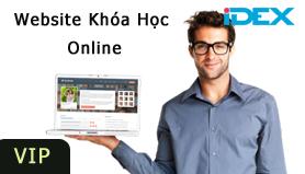 thiet ke web elearning - hoc online