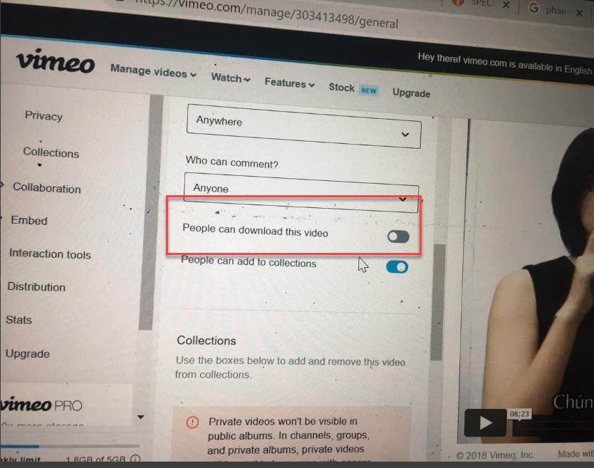 Vimeo Có Chống Tải và Chặn Download Video ? - Tự Học Làm Web