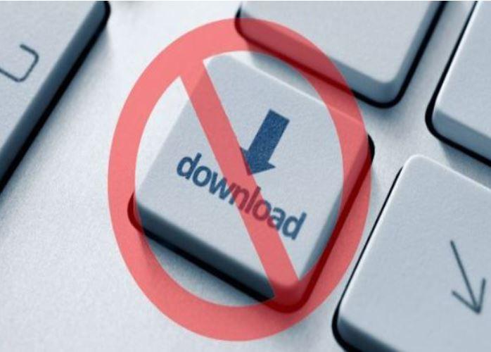chặn download video