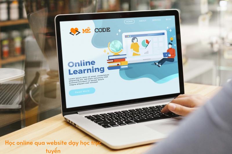 cách thiết kế web dạy học trực tuyến
